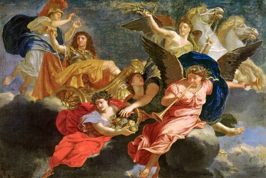 Resultado de imagen para pintor Charles Le Brun,