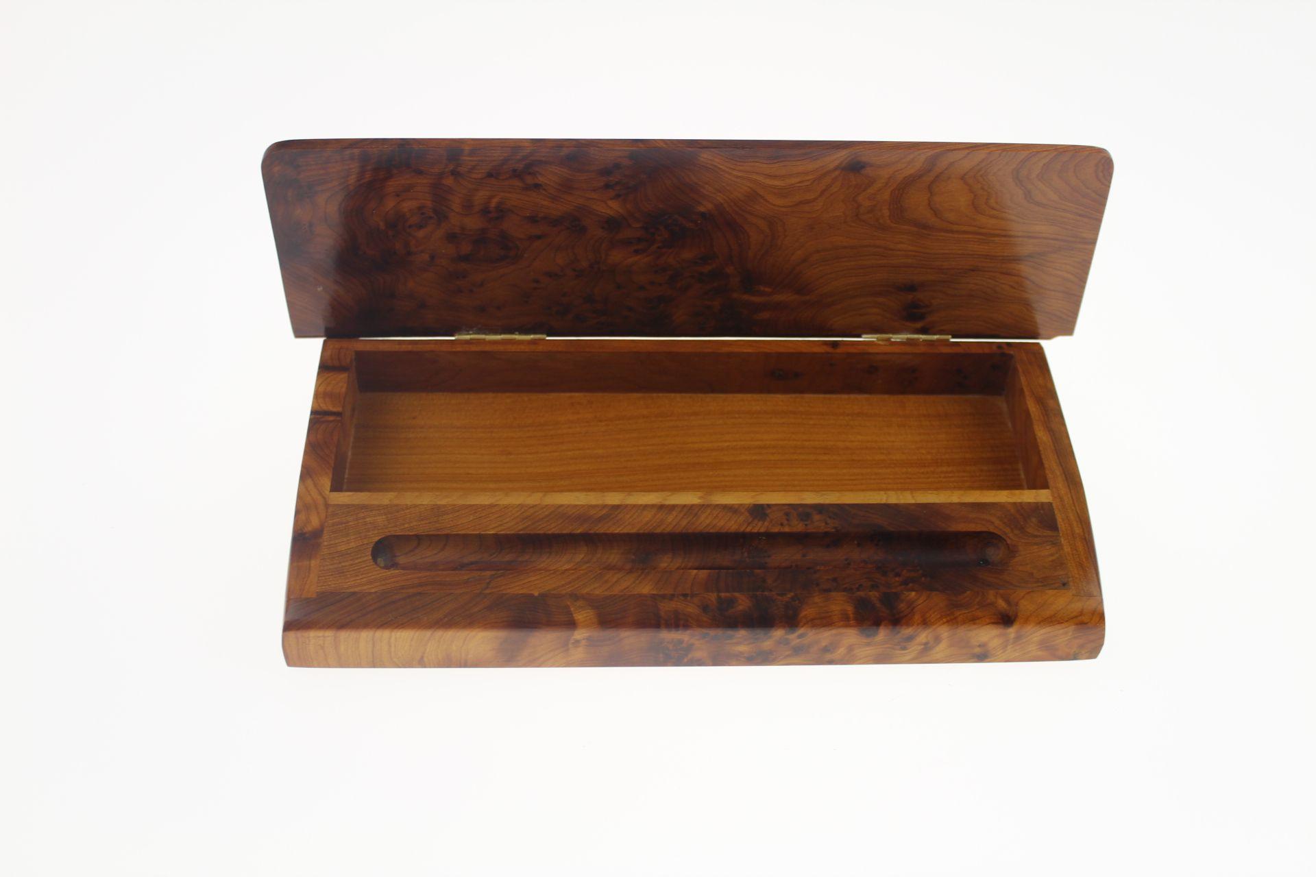 Plumier en bois de thuya Idées pour la maison