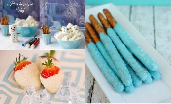Fiesta de Cumpleaos Frozen 101 Ideas Originales Fiesta