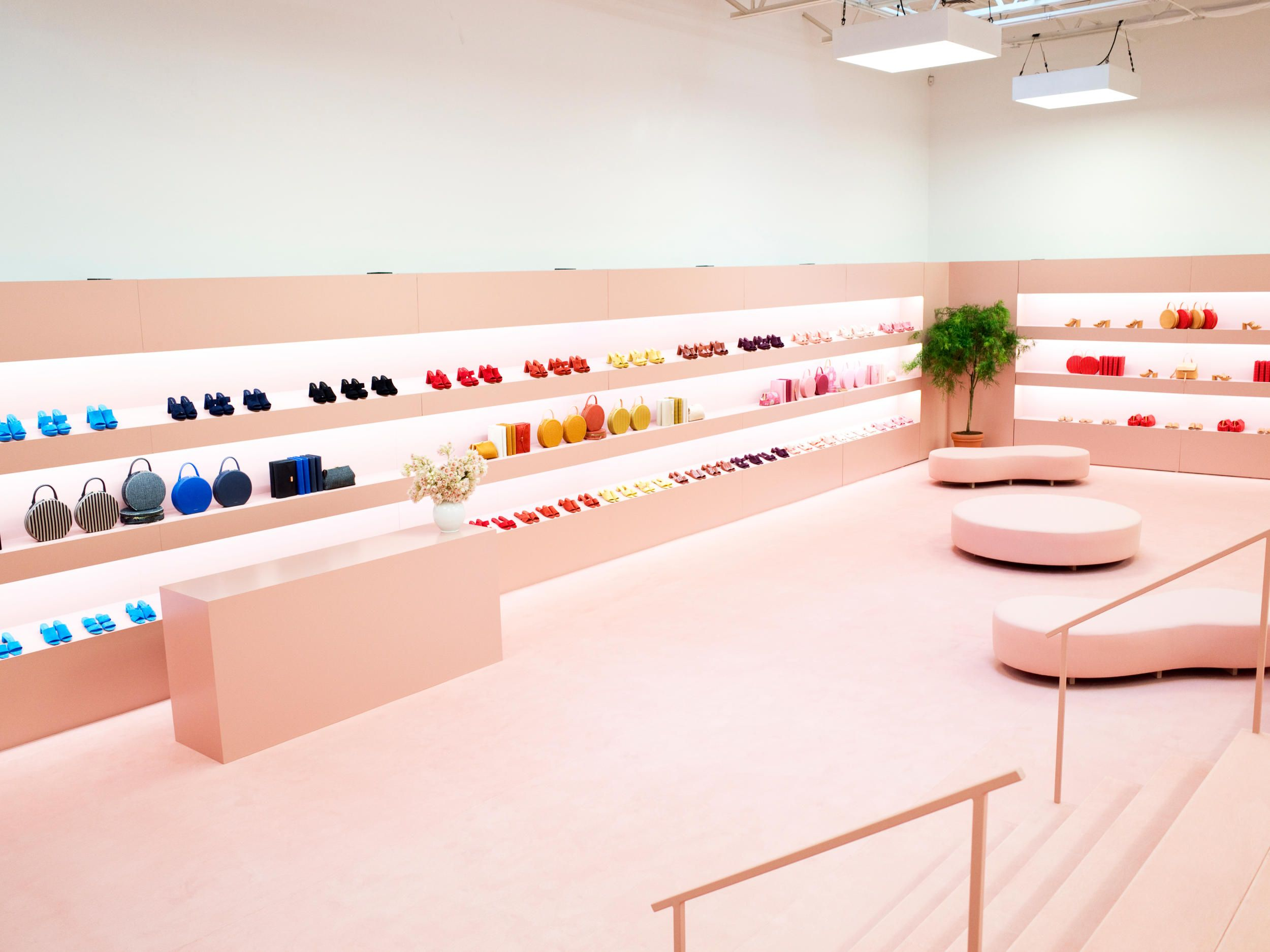 Store by riis retail aarhus denmark 187 retail design blog - Mansur Gavriel Introduces Shoes And New Bag Shapes At First Fashion Week Presentation Fashionista
