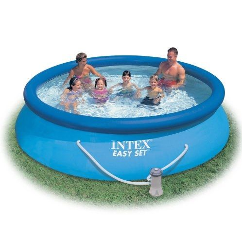 Intex Easy Set 12 Foot By 30 Inch Round Pool Set Review Easy Set Pools Round Pool Inflatable Swimming Pool