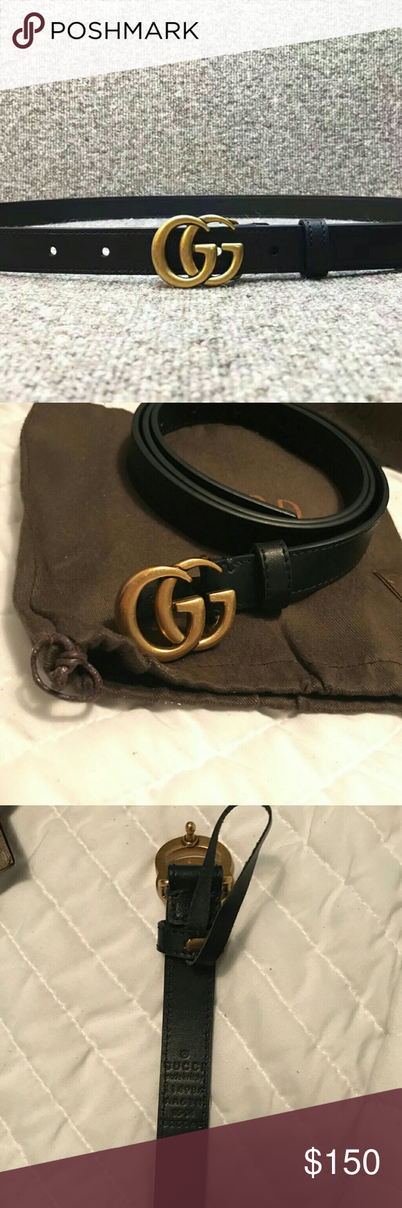 4628c270d055 Authentic Gucci belt Brand New Comes With Tags . Box And Dust Bag Gucci  Accessories Belts