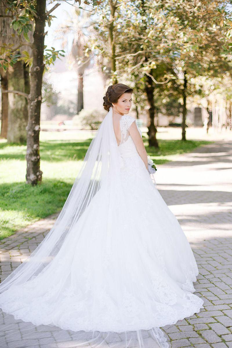 Brautkleider! ◙ Hochzeitskleid spitze, Hochzeitskleid schleier