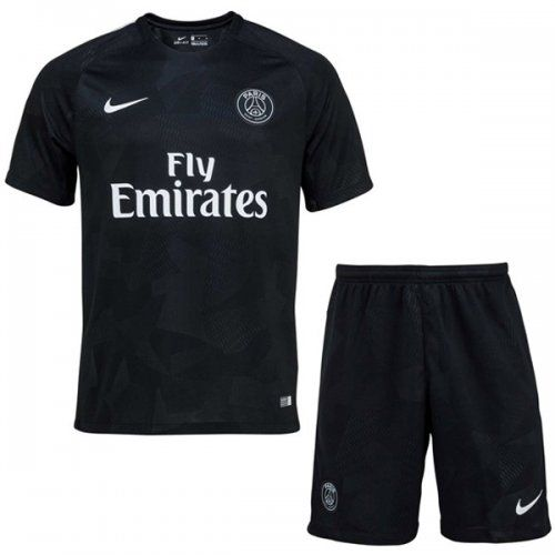 3e789e97c53 PSG 17 18 Third Soccer Jersey Football Kit (Shirt+Short)