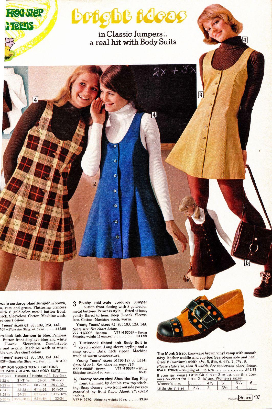 Mini Skirt Monday 163 Sears 1974 Catalog Girls 70s Inspired Fashion Seventies Fashion Fashion