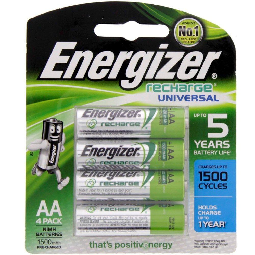 Buy Energizer Rechargeable Aa Battery Nh15bp4 Online In Uae Dubai Qatar Kuwait Oman For Best Price Shop On Luluwebstore Com Energizer Lulus Grocery
