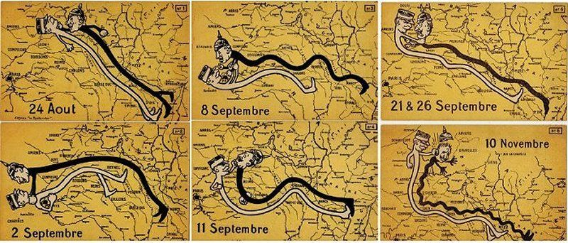 U-Boats and Octopuses Collide in These WWI Propaganda Maps | Atlas Obscura