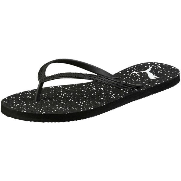 5604bae96587ea Puma First Flip Dots Women s Sandals ( 20) ❤ liked on Polyvore featuring  shoes