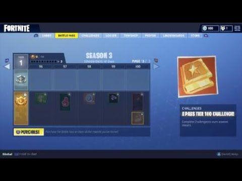 Fortnite Season 3 Battle Pass All Items Preview Fortnite Battle