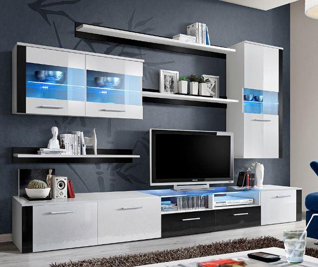 Paris Fresh 3 Meuble Tv Led Meubles Tv Moderne Meuble