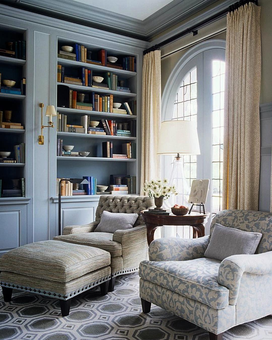 Home Librarydesign Ideas:  Home Library @stevengambrel #book #books