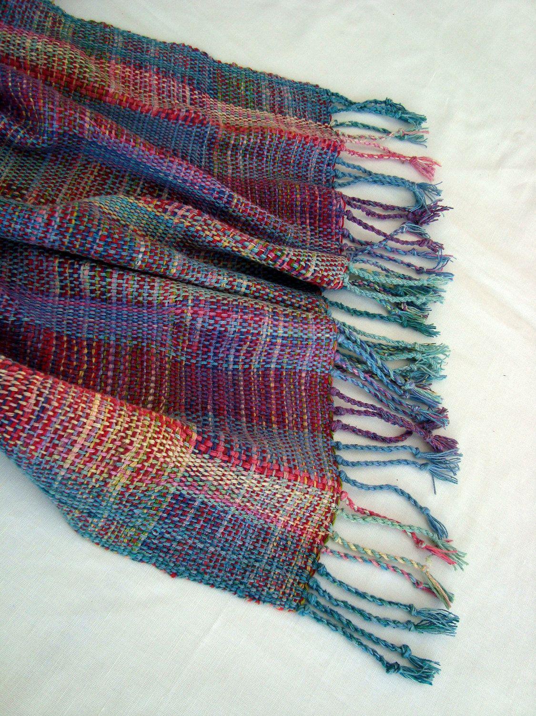 SALE Handwoven Scarf / Shawl / Wrap Multicolor. $200.00, via Etsy ...