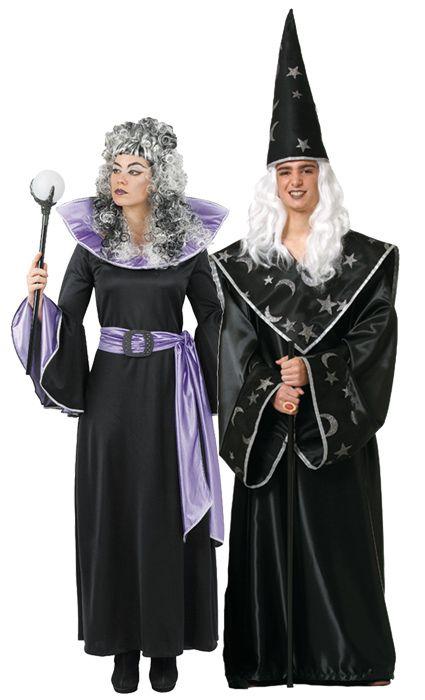 disfraz de pareja de magos hombre y mujer este disfraz de halloween es