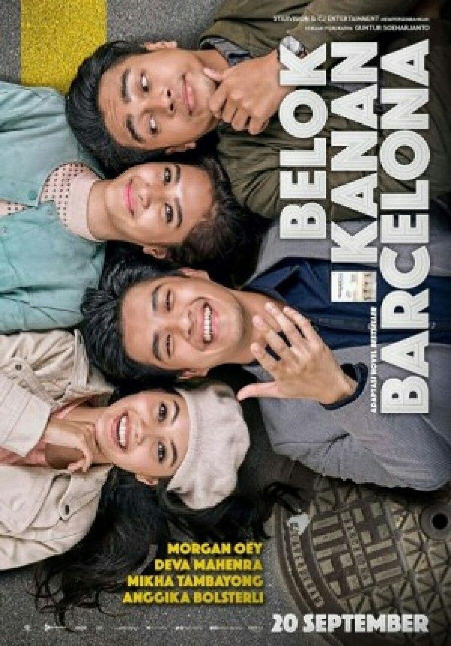 Belok Kanan Barcelona Hiburan Film Poster Film