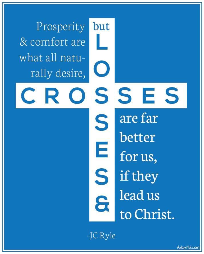 JC Ryle, quote, Jesus, loss