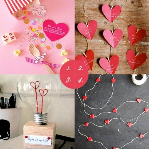 25 Easy Diy Valentines Day Gift And Card Ideas: Simple Homemade Valentine`s Day Gifts For Boyfriend Photos