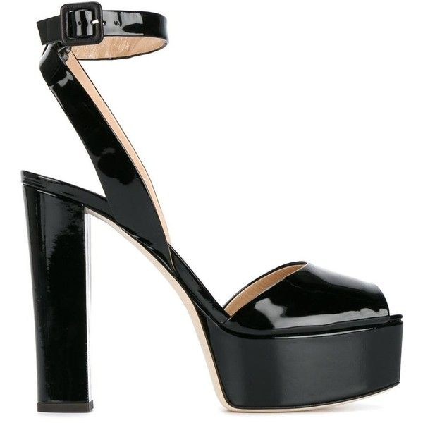dd1e0a07441 Shop Giuseppe Zanotti Design Black Patent Betty 130 sandals on sale at  Browns this winter.