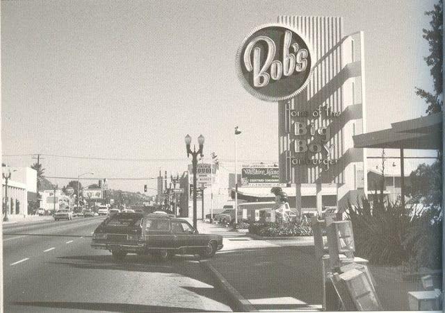 Bob S Big Boy Restaurant Glendale California California History Glendale California Burbank