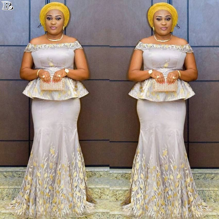 20 Plus Size Aso Ebi Styles For Weekend Reny Styles Latest African Fashion Dresses African Dresses For Women African Fashion