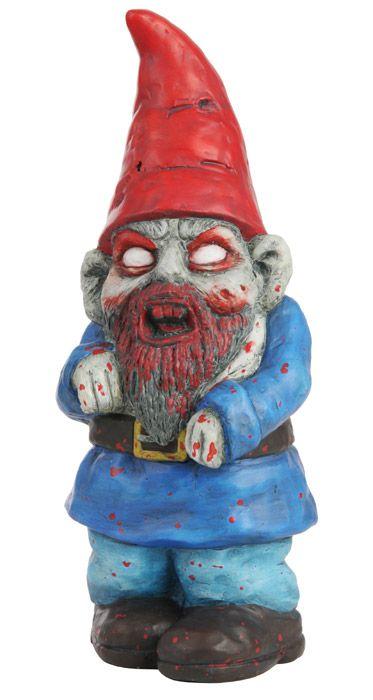 Zombie De Jardin Coool Pinterest Gnomes Gnome Garden Et Garden