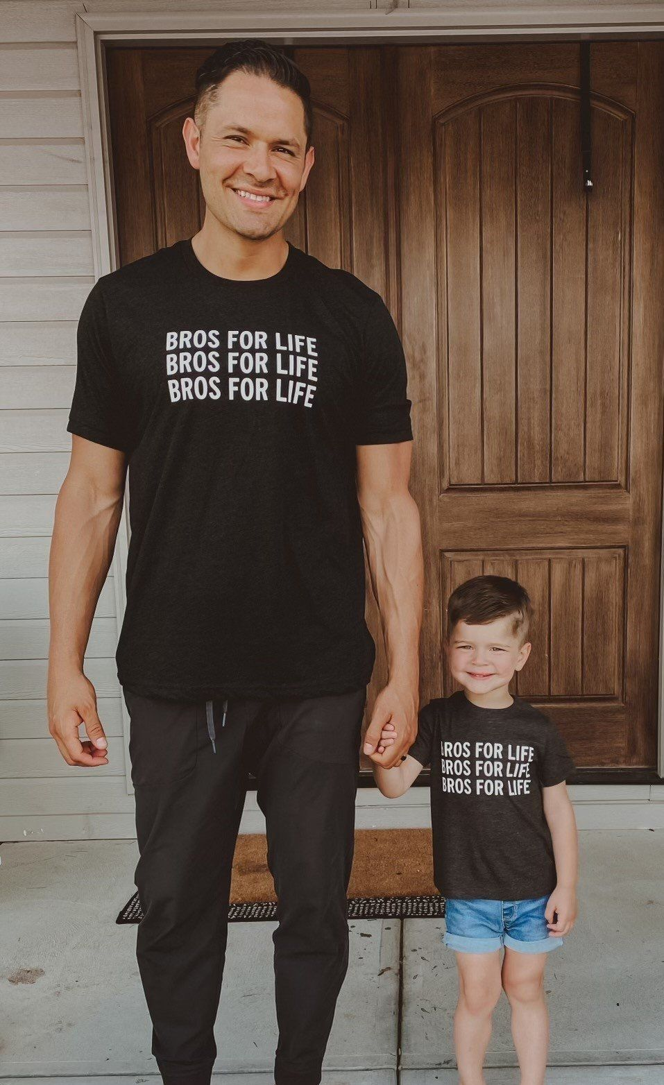 BROS FOR LIFE TEES |  ADULT OR KIDS - MEN'S XL