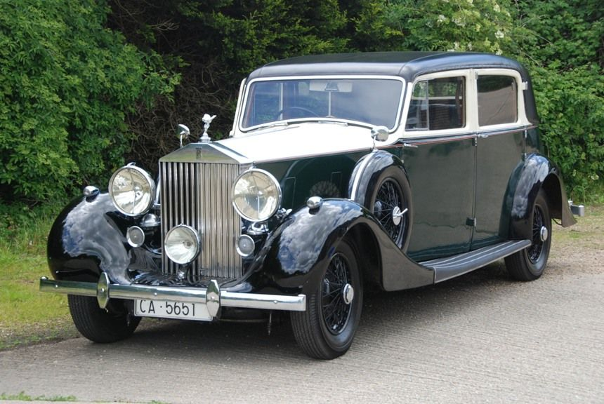 Vintage Rolls Royce for weddings in Chichester | Rolls Royce Classic ...