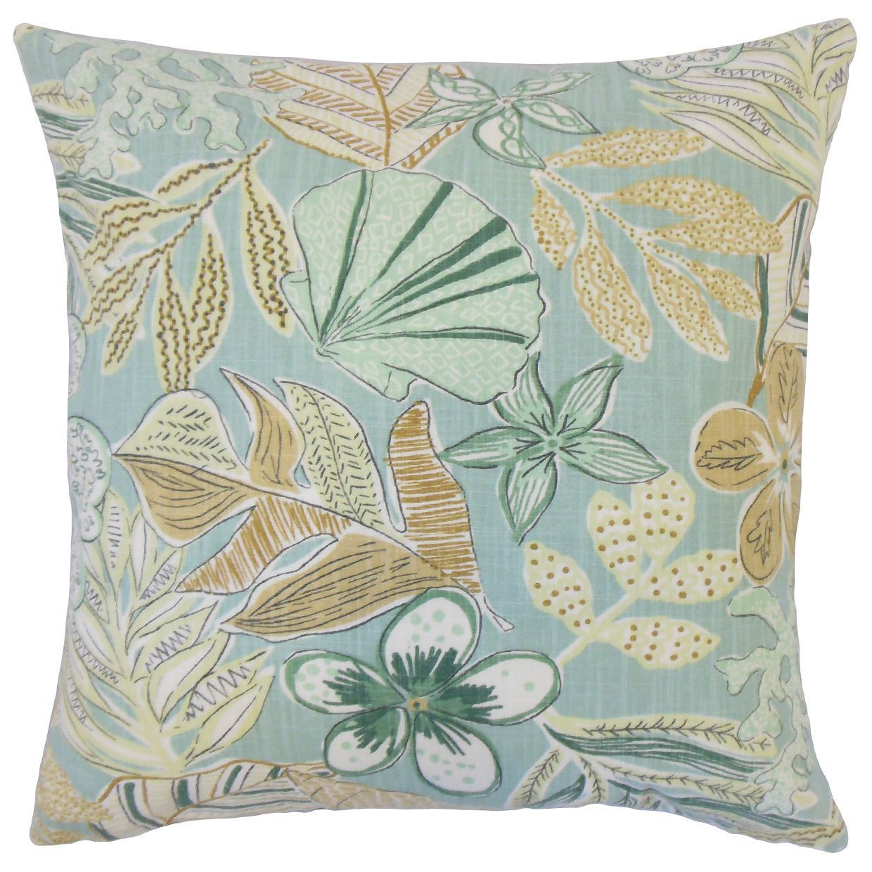Felice 18-inch Throw Feather and Down Filled Throw Pillow