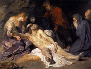 Lament of Christ - (Peter Paul Rubens)