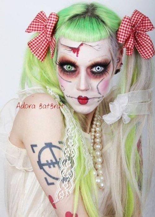 Halloween Make Up Rag Doll Gothic Pastel Halloween Make Up Halloween Make Halloween 2011