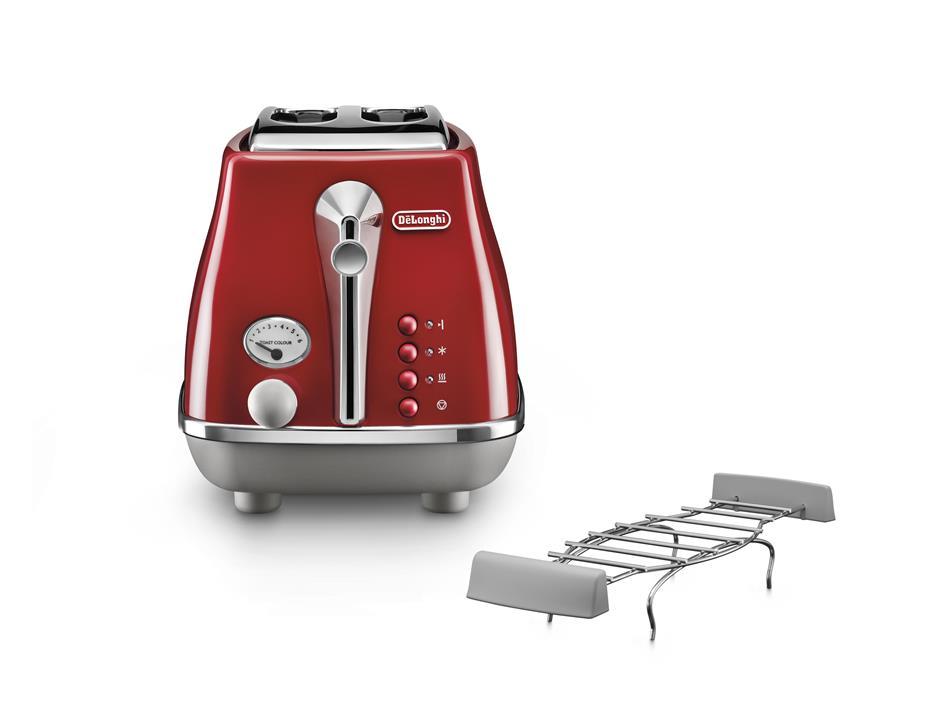 De Longhi Icona Capitals Toaster Ctoc2103 R Not For Us Market In 2020 Toaster De Longhi Delonghi Icona