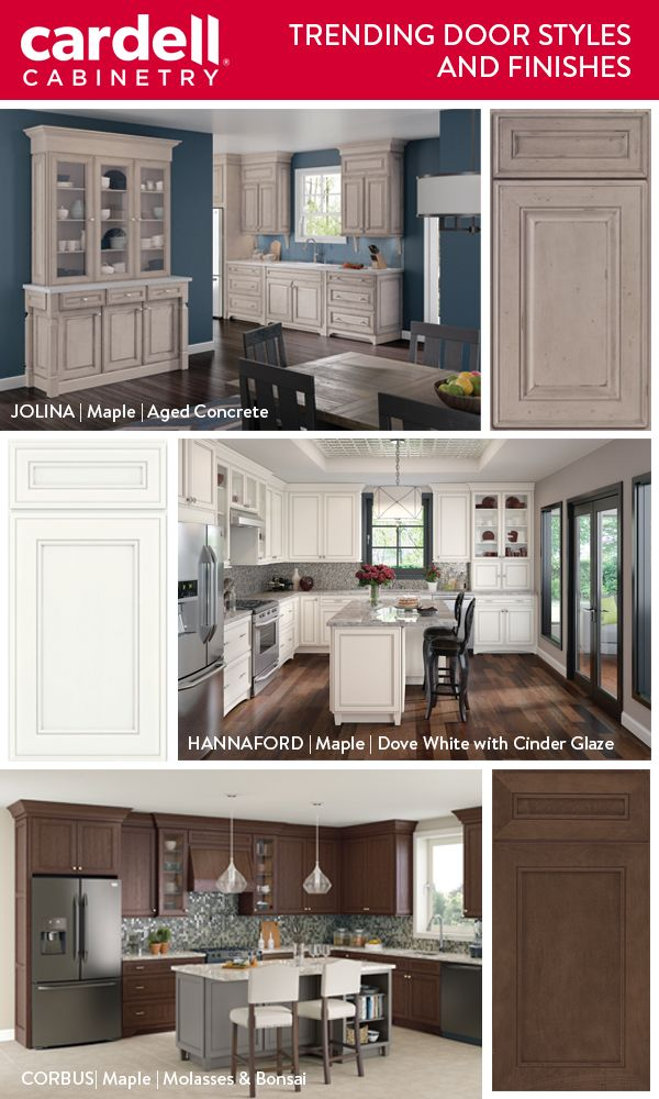 Attrayant These Cabinet Door Styles Are Our Favorites For 2018. From Bathroom  Vanities To Kitchen Islands Their Are Veru2026 | Popular U0026 Trending: Cardell®  Cabinetry ...