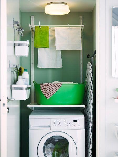 Ideas para un cuarto de lavado peque o cocinas for Lavadero pequenos