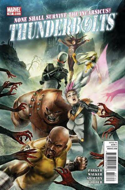 Thunderbolts Vol. 2 # 157 by Jean-Sébastien Rossbach