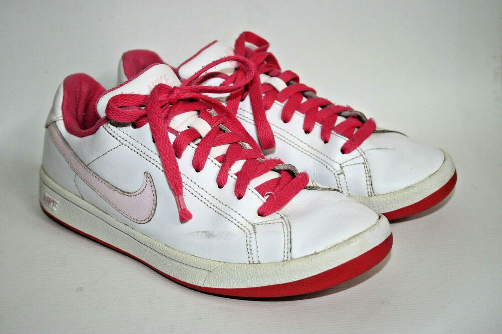 Nike White Pink Womans Shoes Trainers Sport Fitness Fashion