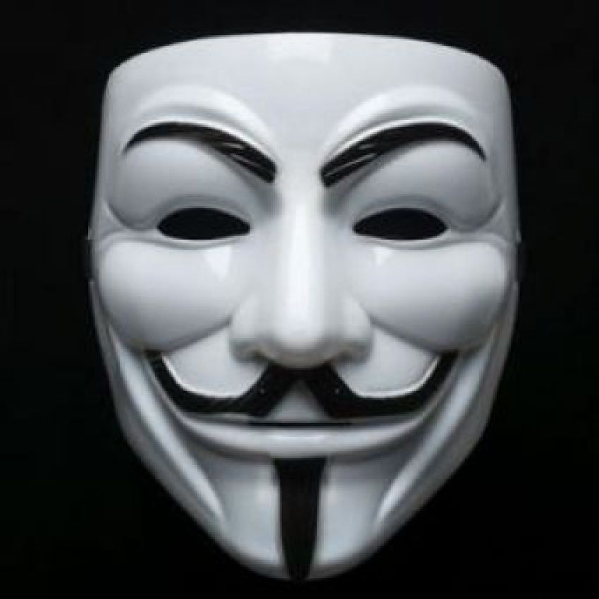 Vendetta mask and what is used in the purge. This is great value at £2.95 and a good accessory for you costume or character . Save £££££ssss www.party-head.co.uk