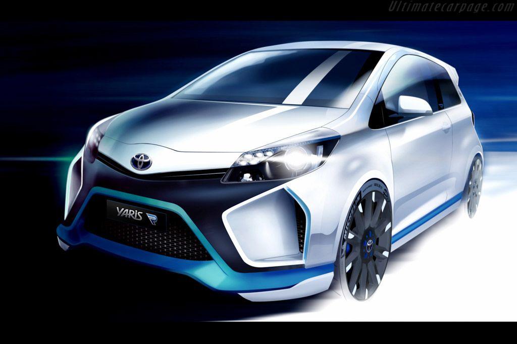 Toyota Yaris Hybrid R Concept Coches modernos, Versos