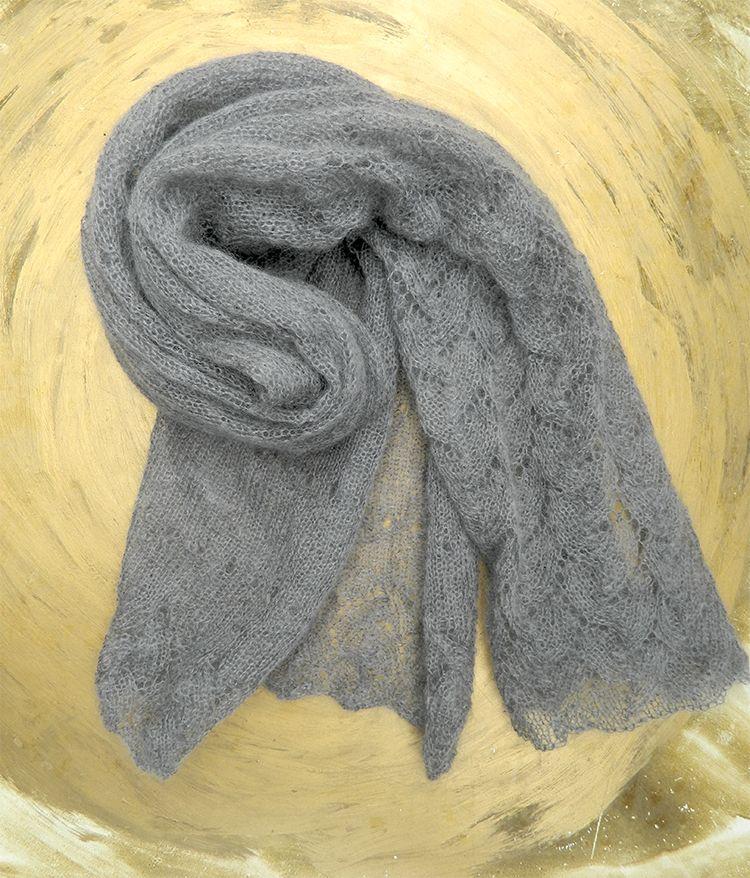 Photo of Die morgendliche Maulwurfsstola besteht aus äußerst zartem Kinder-Mohair von Atelier Zitron. Und mit …