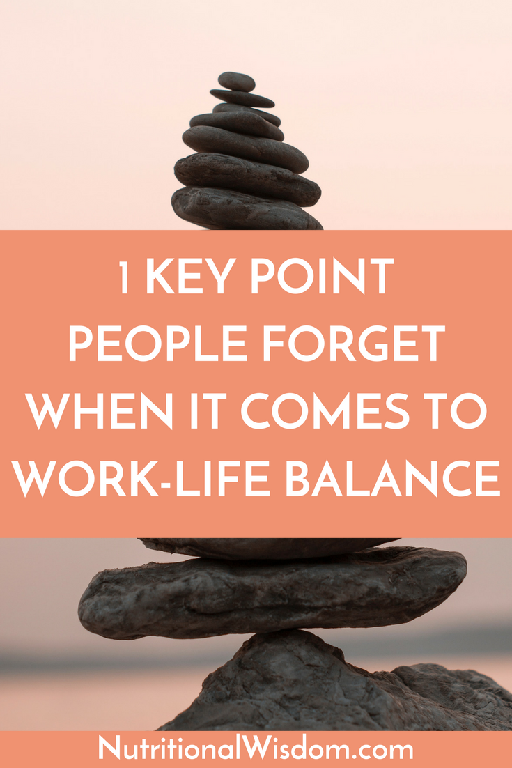 Work-life balance in important, but it's not just about the actions you take. It's about your mindset too.