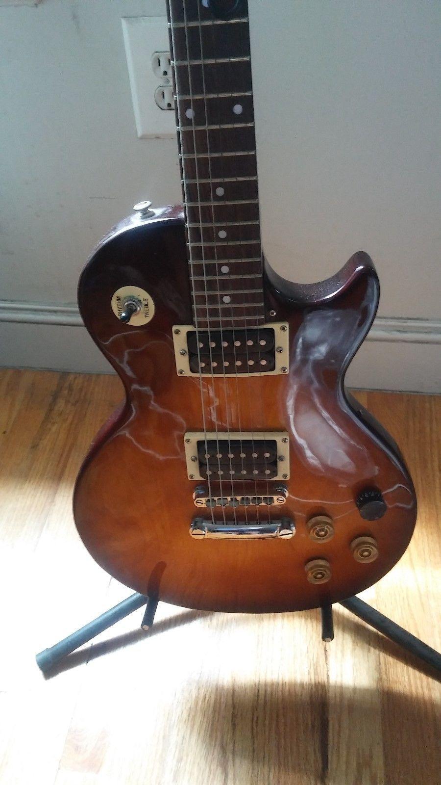 Gibson Epiphone Les Paul Electric Guitar Heritage Cherry Sunburst