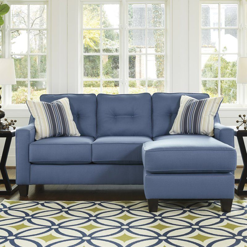 Micah Reversible Sectional Sectional Sofa Small Sectional Sofa Furniture