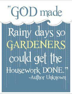 So true~ But then again, something else always gets in the way of accomplishing housework
