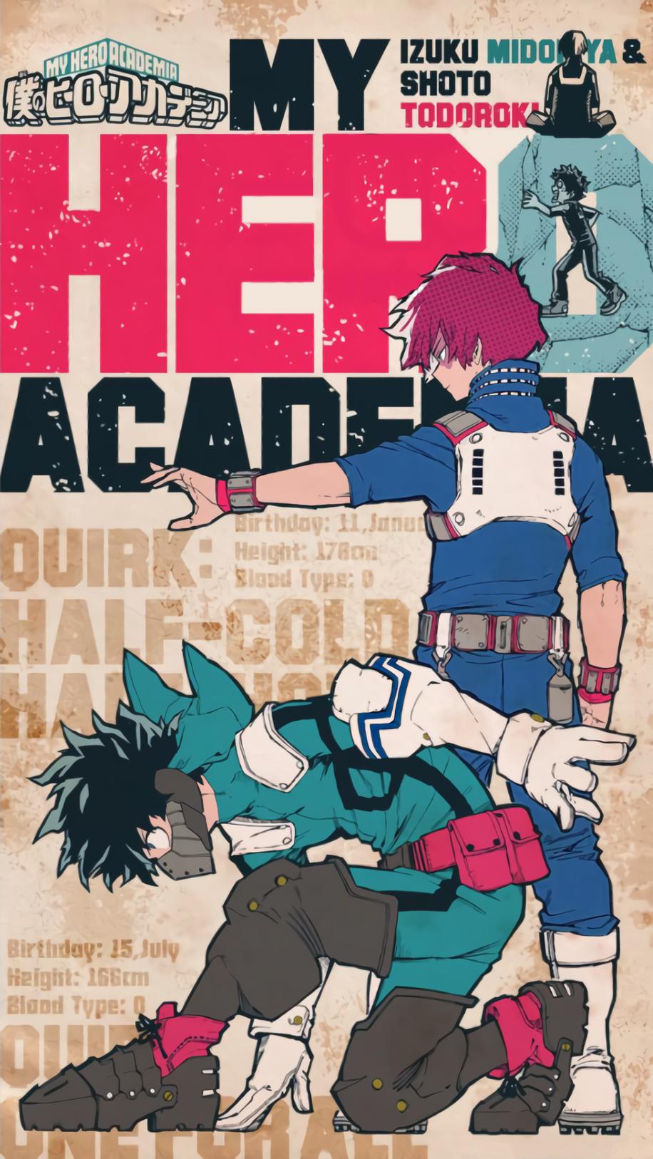 My Hero Academia / Boku No Hero Academia Kisekai Wallpaper Edit #myheroacademiawallpaper My Hero