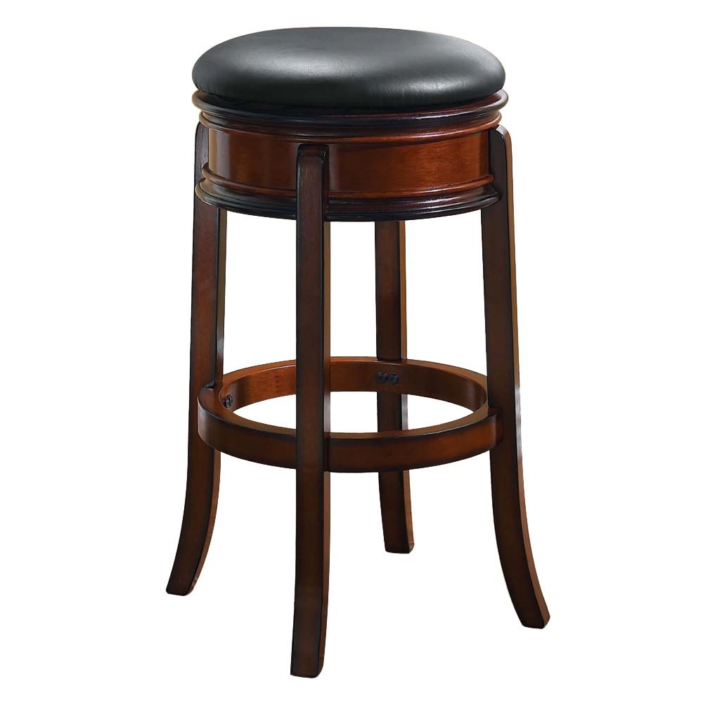 24 Magellan Hardwood Counter Height Barstool Brandy Boraam Swivel Bar Stools Bar Stools Swivel Counter Stools