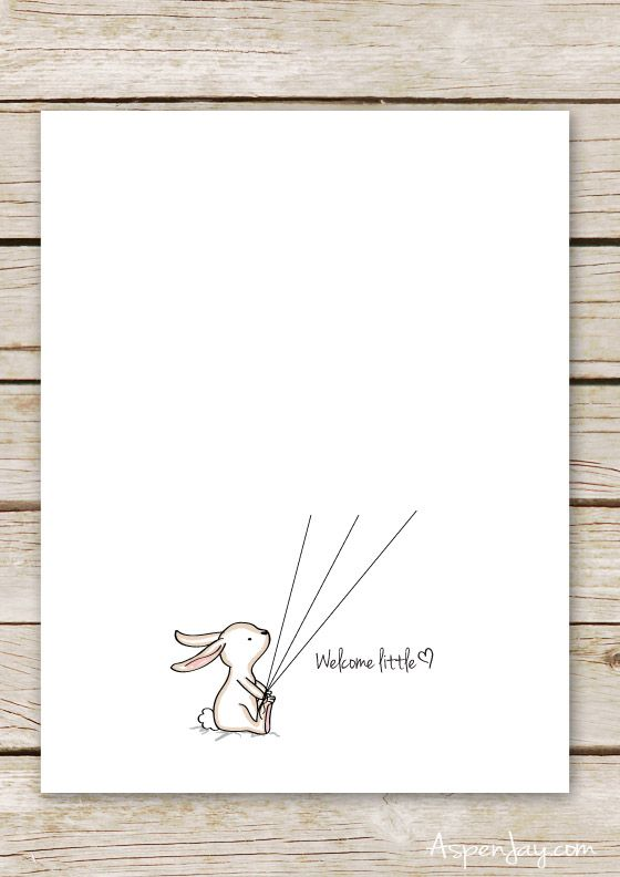 Bunny Baby Shower Guest Book Printable | Pinterest | Free printables ...