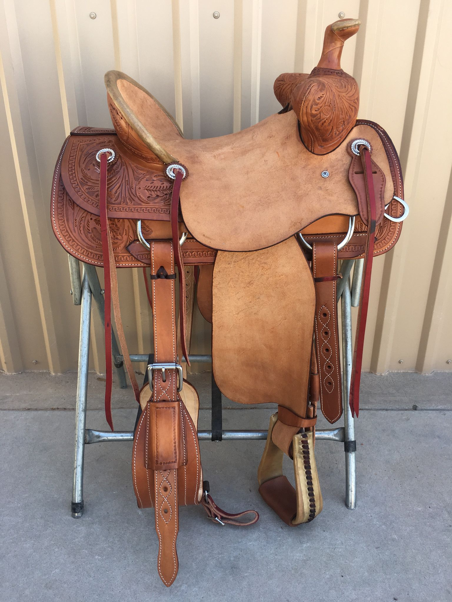 Csbt 1013 Corriente Bear Trap Saddle Roping Saddles Horse Saddle Shop Saddle