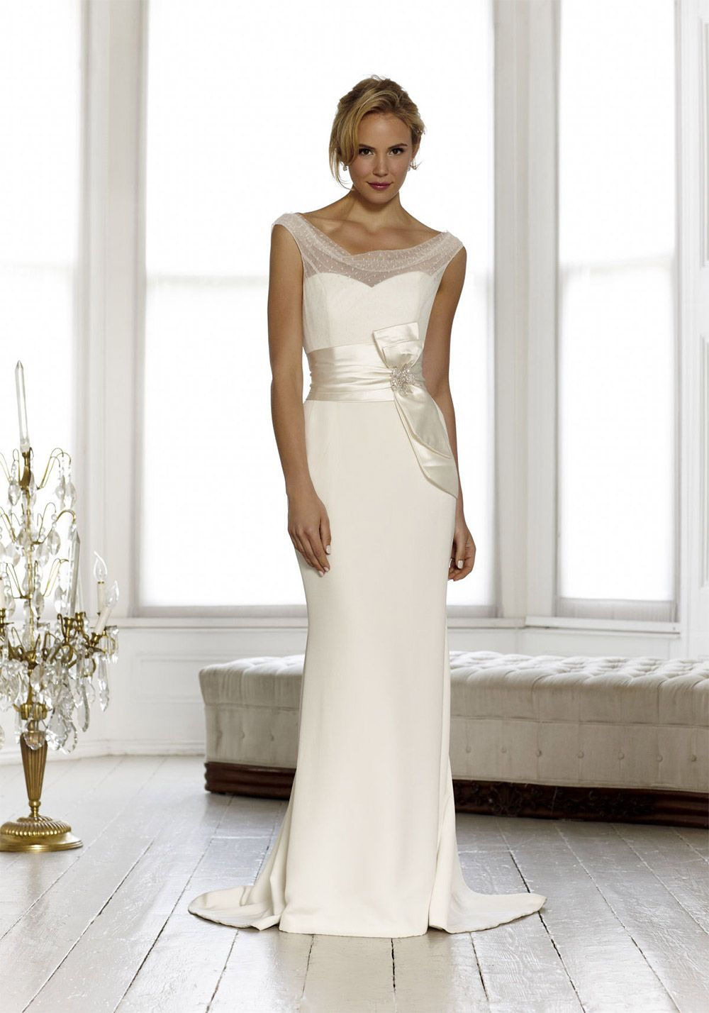 Wedding dresses for a small bust  Stunning wedding dresses