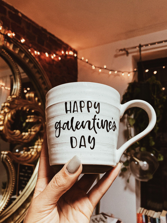 Galentines day mug galentines day gift best friend etsy