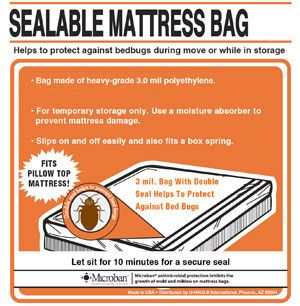 Keep Your Pillowtop Mattress Safe From Damage During Move With These Sealable Bags