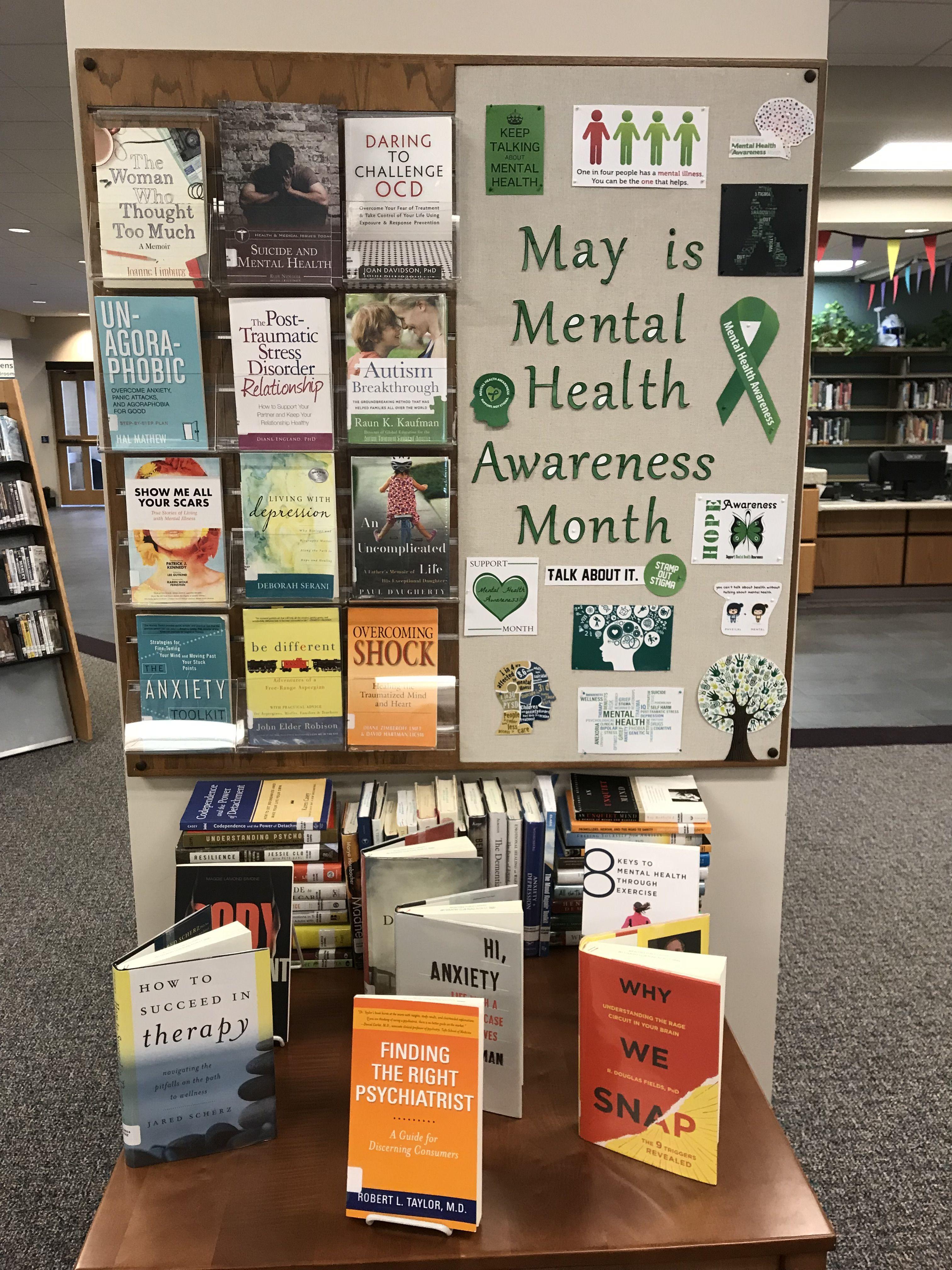 mental health awareness month Health awareness months