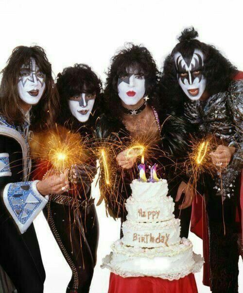 С днем рождения открытка для рокера, юбилеем